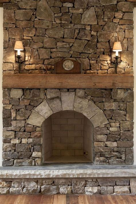 stone fireplace makeover ideas  pinterest