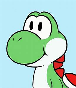 A drawing of Yoshi for MrYoshi by ILoveLunaLoud on DeviantArt