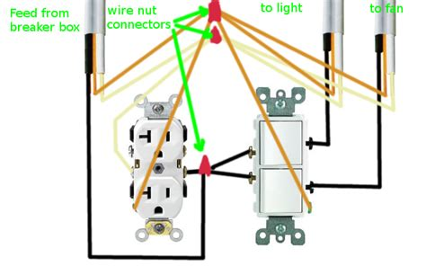 Electrical How Can Rewire Bathroom Fan Light