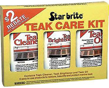 teak wood cleaner brightener oil kit outdoor