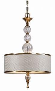 Uttermost dueville light drum pendant
