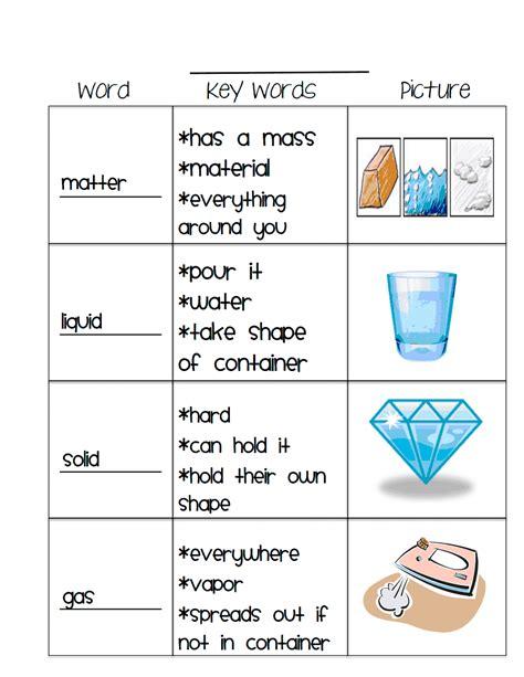 matter vocab 1 pdf worksheet chemistry