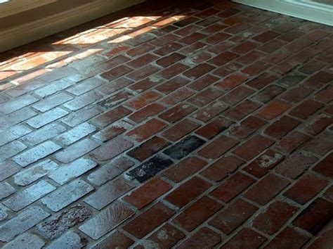 brick tiles floor 17 best ideas about brick tile floor on pinterest brick pavers brick floor kitchen and whitewash