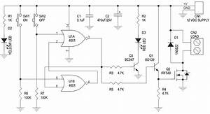 Digital Toggle Switch With Mosfet Based Solid State Relay