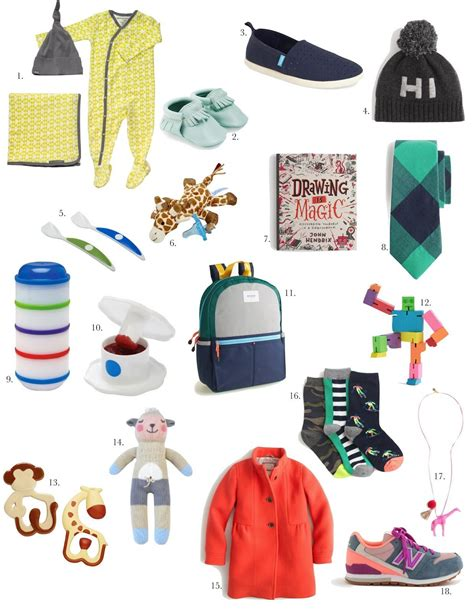 Holiday Gift Guide For Kids Baby Elle Apparel By