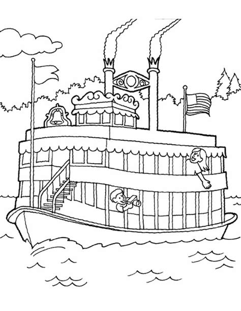 Kleurplaat Boot by Kleurplaat Boot