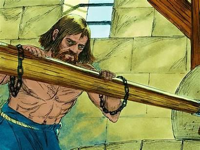 Samson His Strength Secret Eyes Story Captured