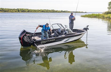 Raptor Boats Fishing by Crestliner 1850 Raptor 18 Foot Walleye Fishing Boats