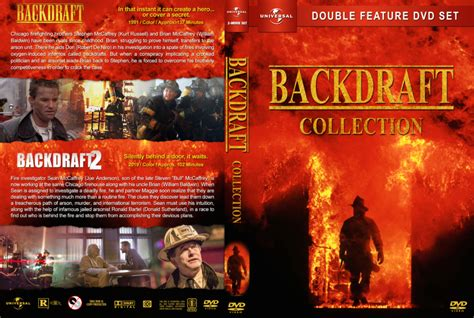 Backdraft Collection (1991-2019) R1 CUSTOM DVD Cover ...