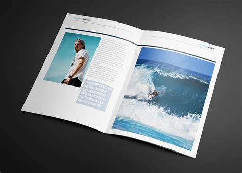 waves magazine template magazine templates creative market