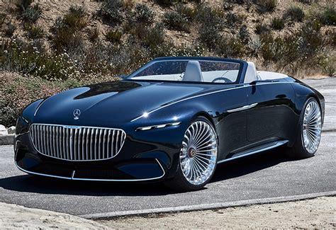 mercedes maybach  cabriolet vision concept