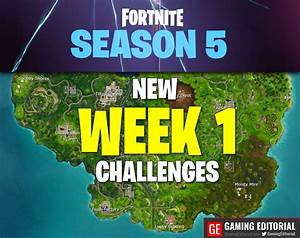 Fortnite Week 1 Challenges Season 5   How To Solve Them