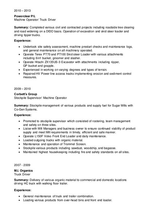 Ups Truck Loader Resume by Keith Henderson Mining Resume