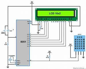 Dht11 Sensor Interfacing With 8051