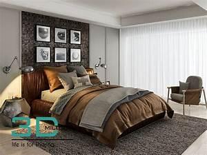 44  Bed 3d Models Free Download - 3d Mili - Download 3d Model - Free 3d Models