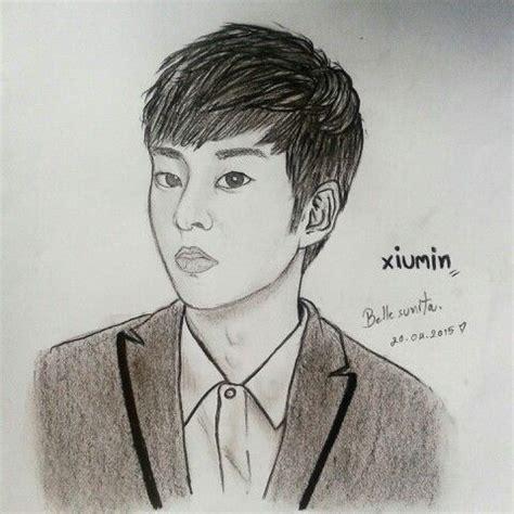 images  art exo xiumin  pinterest posts