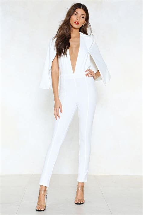 cape it together tailored jumpsuit shop clothes at