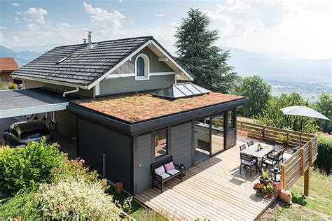 veranda moderne toit plat je fabrique pour vous des vrandas sur mesure en bois ou aluminium