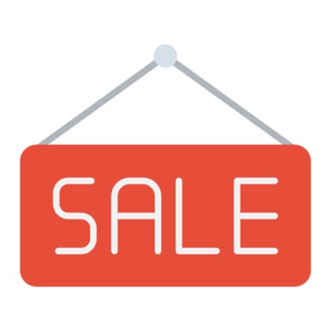Free Sale Icon, Symbol. Download in PNG, SVG format.