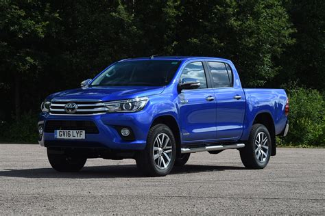 toyota hilux review auto express