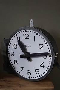 Horloge De Gare : ancienne grande horloge de gare brilli cadran emall ~ Teatrodelosmanantiales.com Idées de Décoration