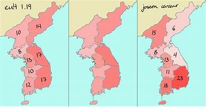 Korean Numbers Provinces Overhaul Comprehensive Moderately Terrain