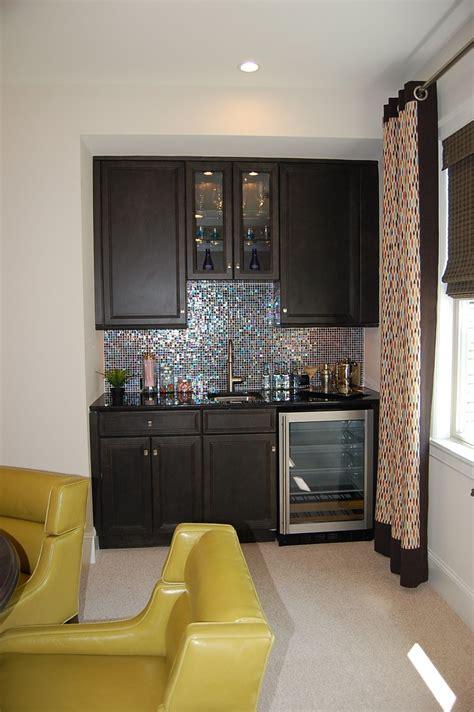 Bar In Living Room Designs by Bonus Room Bar Different Backsplash And Add Small
