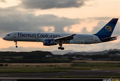 G-FCLA - Thomas Cook Boeing 757-200 at Glasgow | Photo ID ...