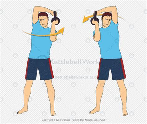 kettlebell halo exercises exercise body upper kettlebellsworkouts workout workouts