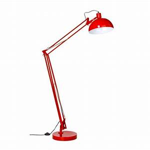 red floor lamps lighting and ceiling fans With red floor reading lamp