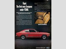 'The Car You Always Promised Yourself' Ford Capri ads
