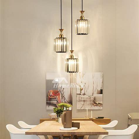industrial pendant lighting clear glass  light kitchen