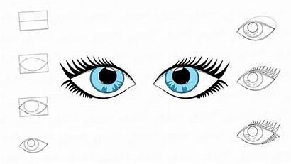 Ojos Dibujar Paso Occhi Come Yeux Gli