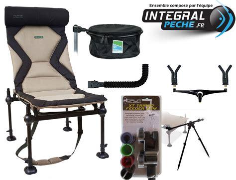 chaise de peche pack chaise korum et accessoires pêche feeder à 2 cannes