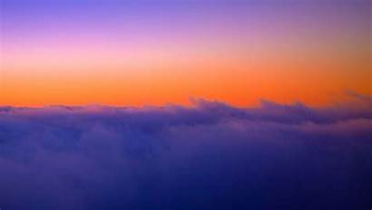 Height Sky Clouds Sunset Background Twilight 1080p