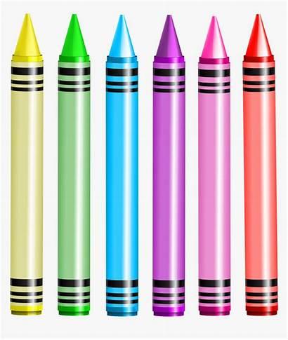 Crayons Crayon Transparent Clipart Clip Background Crayola