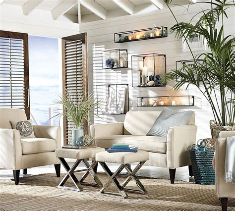 Living Room Wall Decor Pottery Barn by 7 Ways To Decorate With White