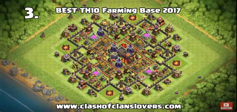 clash of clans best th10 farming base 2015 50 th10 undefeated war farming trophy hybrid bases 2018 clas