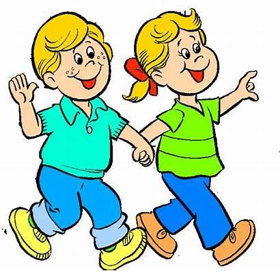 Walk Walking Clip Children Clipart Many Advertisement