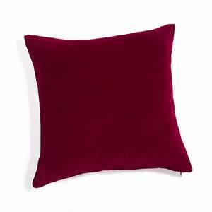 Maison Du Monde Coussin : coussin en velours rouge 45 x 45 cm maisons du monde ~ Teatrodelosmanantiales.com Idées de Décoration