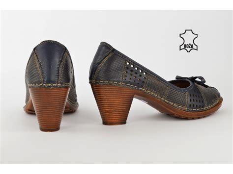 Kožne ženske cipele na štiklu K1868TT - Kupindo.com (60626393)
