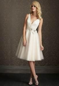 short simple wedding dress With simple short wedding dress