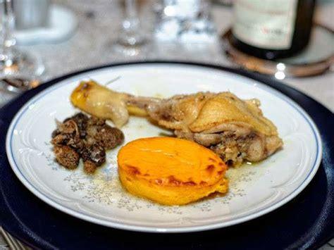 cuisine au vin jaune recettes de poularde aux morilles