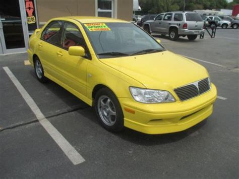 Mitsubishi Lancer Oz Rally Specs by Purchase Used 2003 Mitsubishi Lancer Oz Rally In 18638 Us