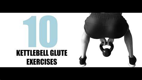 glute kettlebell exercises