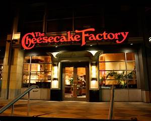 National Cheesecake Day Half Price At The Cheesecake Factory