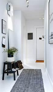 1001 idees pour savoir quelle couleur pour un couloir With tapis couloir avec canapé dossier mobile