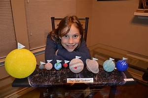 Phil U0026 39 S Astronomy Blog  Daughter U0026 39 S Solar System Project