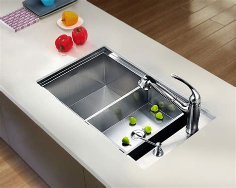 the kitchen sink nyc dawn undermount square single bowl sink with side drain