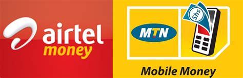 mtn mobile money airtel mtn money logo horz galaxy fm 100 2